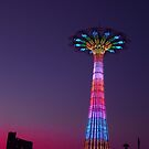CONEY ISLAND'S WONDEROUS PARACHUTE JUMP by KENDALL EUTEMEY