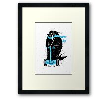 Easy Ridin' Walrus Framed Print