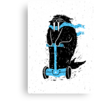 Easy Ridin' Walrus Canvas Print
