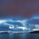 Bayona sky line by Alan Robert Cooke