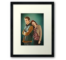 Rory and Amy - 'The Doctor's Wife' (Doctor Who) Framed Print