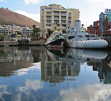 Old whaler in Table Bay by Lee Jones