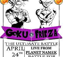 DBZ - Goku Vs Frieza by JJJericho