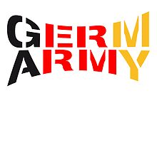 Germ Army Germany Design by Style-O-Mat