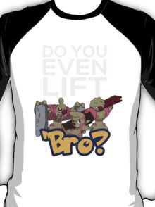 Do You Even Lift Bro - Pokemon - Conkeldurr Family T-Shirt