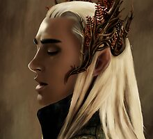 Thranduil by Julia Bland