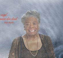 Maya Angelou by john NORRIS