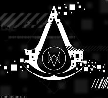 Assasin Creed - Watch_Dogs Case by FranButtaci