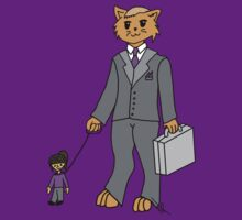 Business Cat by nyancat