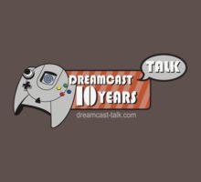 Dreamcast Talk 10th Anniversary Blue Swirl by Dreamcast-Talk
