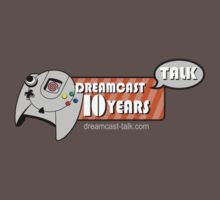Dreamcast Talk 10th Anniversary Red Swirl by Dreamcast-Talk
