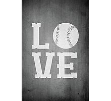 Baseball Love 2 Photographic Print