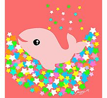 Lucky Star Whale Photographic Print