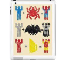 Spider + Man, Bat + Man, Iron + Man iPad Case/Skin