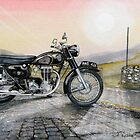 AJS Model 18 Statesman by JohnLowerson