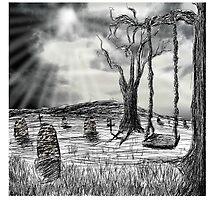Graveyard by Tarnya  Burke