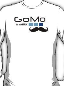 GoMo - be a hero - gopro parody T-Shirt