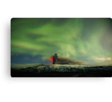 Northern Lights Eruption Canvas Print
