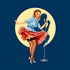 Pin-Up Girl 'In The Spotlight' by Fiona Stephenson by Fiona Stephenson