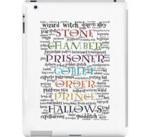 Harry Potter Typography iPad Case/Skin