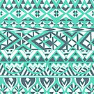 Tribal Simplicity I by Pom Graphic Design