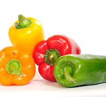 Bell peppers.  by voddol