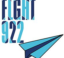 Flight 922: Blue by Dianthus