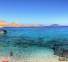 The Bay at Ftenagia by Tom Gomez