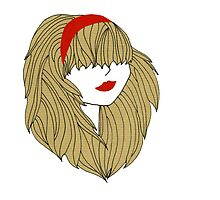 Red girl by zahrla