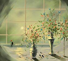 Totoro's Window #2 by loo1cool
