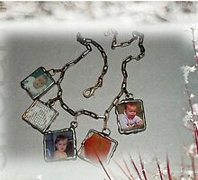 'Keepsakes' necklace by Maree  Clarkson