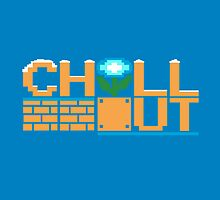 Chill Out (pillow) by Ameda Nowlin