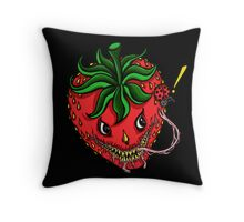 Sinister Strawberry (pillow) Throw Pillow