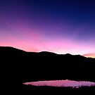The Pink Pond - near Gloucester NSW Australia by Beth  Wode
