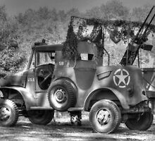 World War 2 Dodge WC Series Vehicle by Jimmy Ostgard