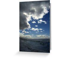 Stormclouds At Burleigh Greeting Card