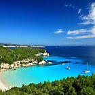 Voutoumi beach - Antipaxos island by Hercules Milas