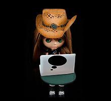 THOUGHTS OF U DOLL COMPUTER THROW PILLOW by ✿✿ Bonita ✿✿ ђєℓℓσ