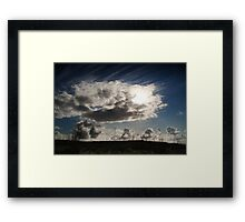 Lonesome Road Framed Print