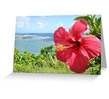 Paradise Cove Samoa Greeting Card