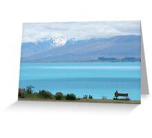Lake Pukaki For One Greeting Card