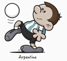 2014 World Cup T-Shirts - Argentina by spaghettiarts