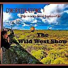 Wild West Show Banner by Nancy Richard