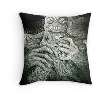 Mr. Creepy Throw Pillow