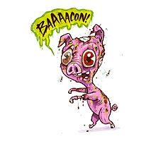 Pork Zombie Photographic Print