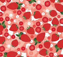 Strawberry by Orna Artzi