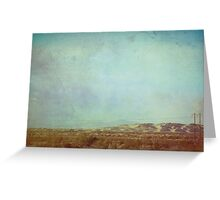 Inland Empire I Greeting Card