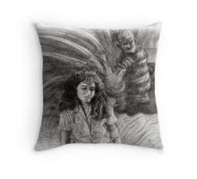 Nancy's Nightmare Throw Pillow