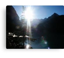Rocky Mountain Sunshine Canvas Print