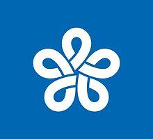 Flag of Fukuoka Prefecture  by abbeyz71